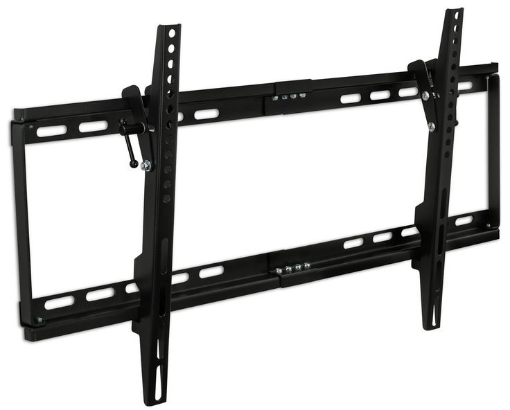 """Mount-It! MI-1121M Slim Tilt TV Wall Mount Bracket for LED LCD Plasma Flat Screen Panels for 32"""" to 65"""" (Many from 20-75"""") up to VESA 600 x 400 and 130 lbs Low Profile. 0-15 Degree Forward Adjustable Tilting Including 6 ft HDMI Cable and Leveling Bubble Fits Samsung, Sony, LG Sharp, Insignia, Vizio, Haier 26, 28, 32, 40, 42, 48, 49, 50, 51, 52, 55, 60, 65 inch TV, Black: Amazon.ca: Electronics"""