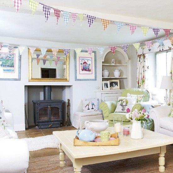 Playful living room design | Living room designs | Decorating ideas for living rooms | housetohome.co.uk