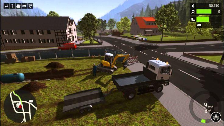 Construction Simulator 2015 Truck Excavator Forklift Trailer The Farmer ...