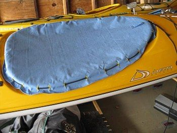 DIY Kayak Cockpit Cover
