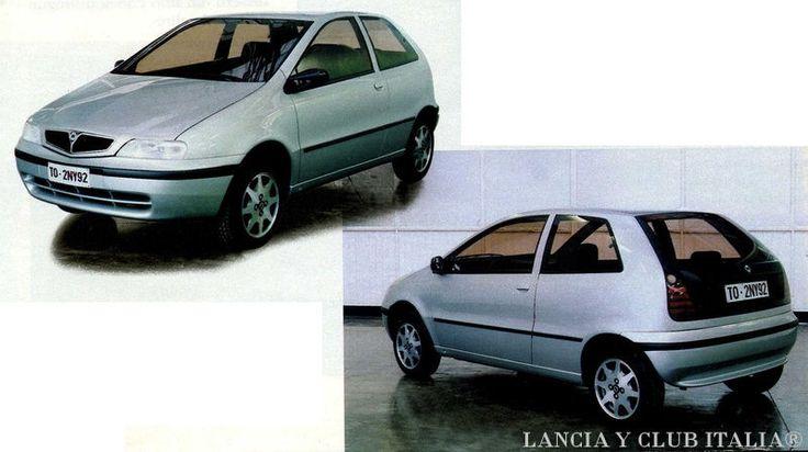 OG | Lancia Y | Clay model proposal