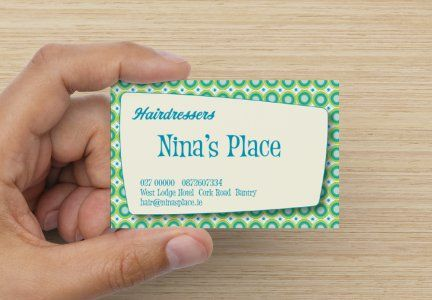Personalise Your Deluxe Business Card