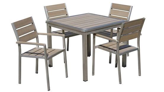 Saboree momentos de convivencia en familia con estas sillas y mesa de jardín ¡ Un conjunto para el jardín que seducirá las terrazas más exigentes !