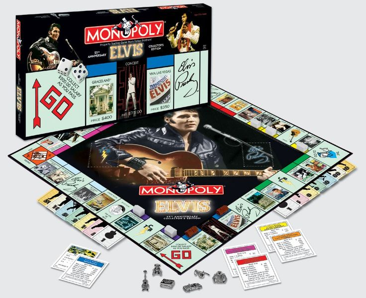 Elvis Monopoly Collector's Edition -lautapeli