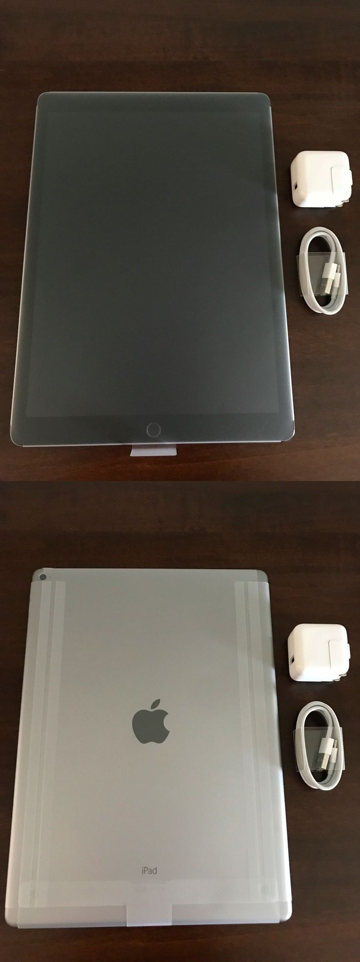 Computers Tablets Networking: New Apple Ipad Pro 12.9 128Gb Wi-Fi Space Gray Ios Touch Screen 1St Generation -> BUY IT NOW ONLY: $640 on eBay!
