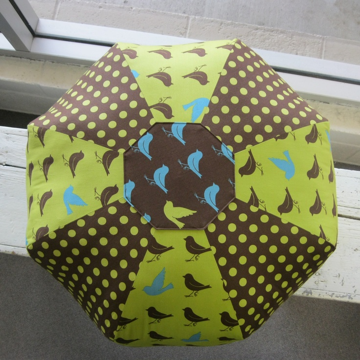Amy Butler Gum Drop Pillow   Oh Deer Fabrics by Momo for Moda.  Fabric and pattern is stock