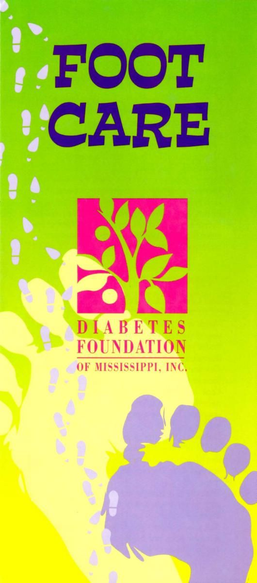 Foot Care | Diabetes Foundation of Mississippi