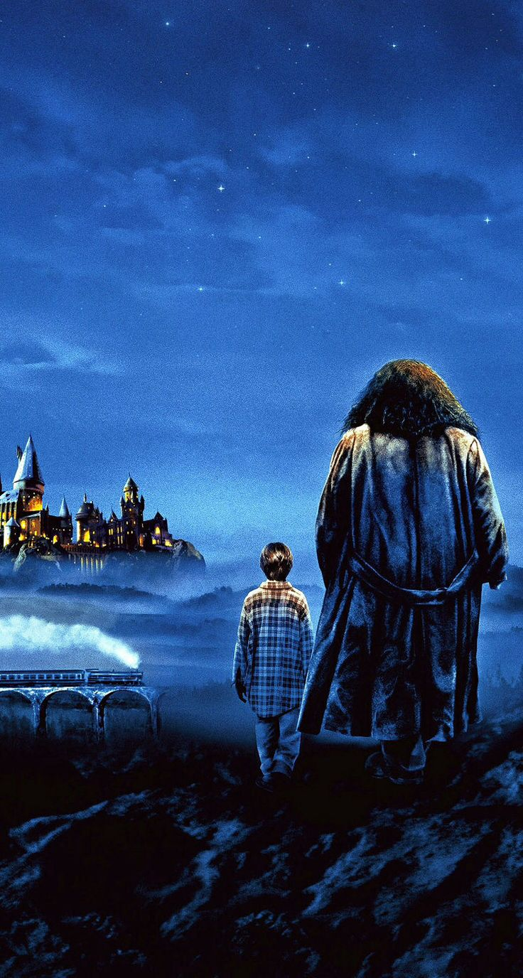 Hd wallpaper harry potter - Harry Potter Painting Harry And Hagrid Ios7 Hd Wallpaper