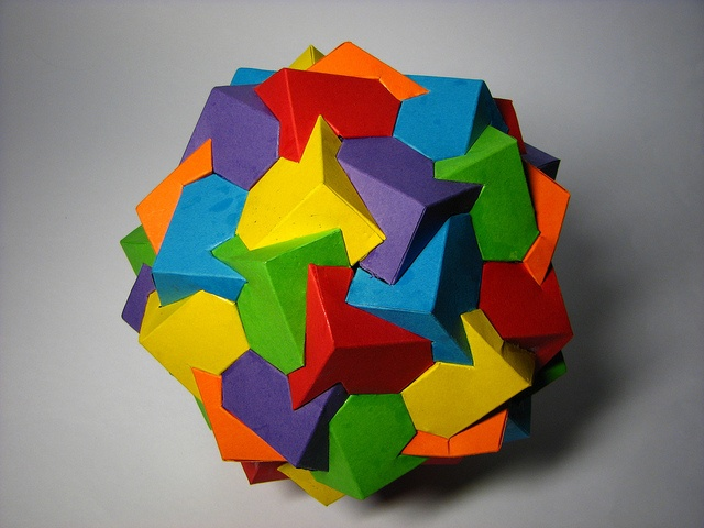 how to make a pentagonal prism with paper