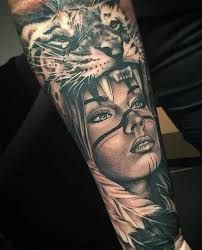 Bilderesultat for stunning sleeve tattoos