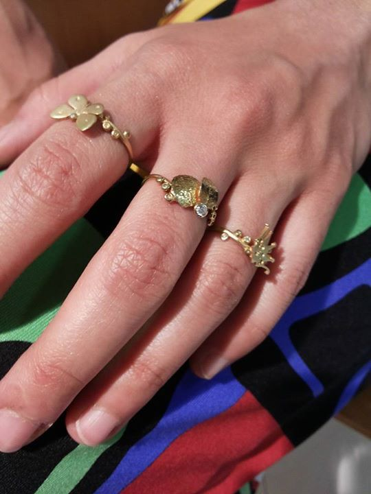 IOSIF Gold rings | Art Craft Fusion Greece