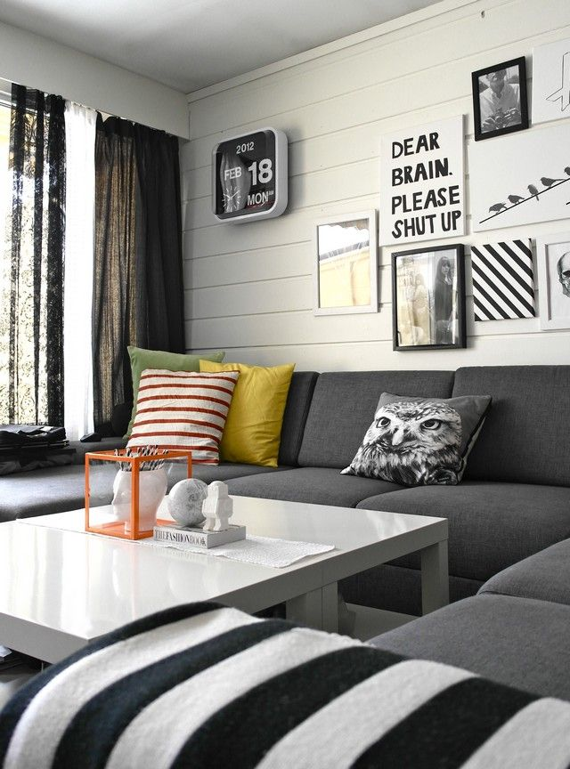 living room color schemes with black furniture%0A Here you can check some great examples of black and white interior design color  schemes selected by Design Build Ideas team that you will love