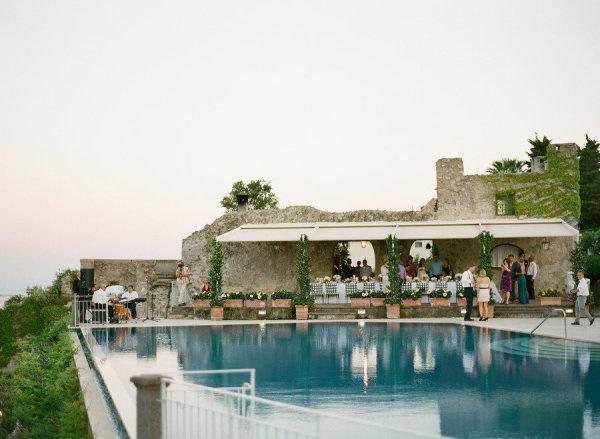 Hotel Caruso. Dinner location.