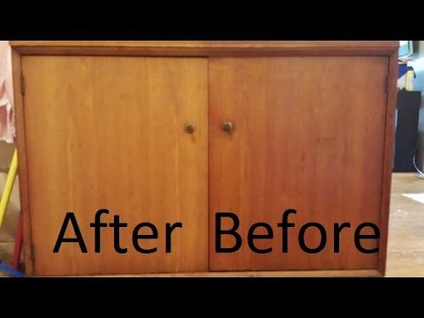 Superb How To Easily Remove Cigarette Smoke And Nicotine From Wood Furniture    YouTube