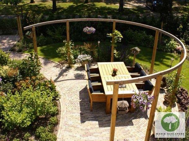 16 beste afbeeldingen over pergola op pinterest tuinen vuurkorven en studio 39 s - Wijnstokken pergola ...