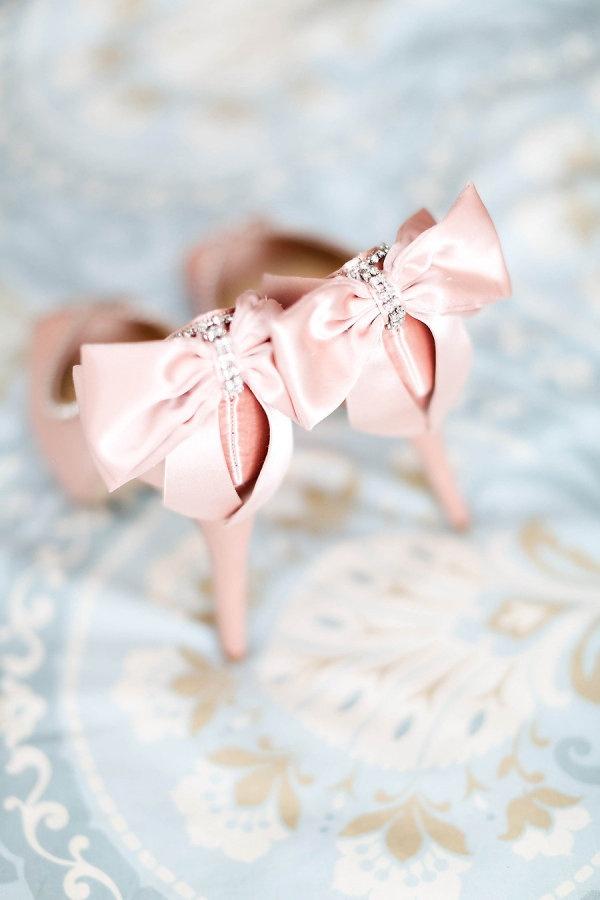Pretty in pink - gorgeous bridal pump
