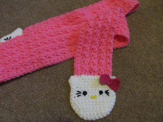 Hello Kitty Mittens Knitting Pattern : 17 Best images about Crochet Hello Kitty on Pinterest Free pattern, Hello k...