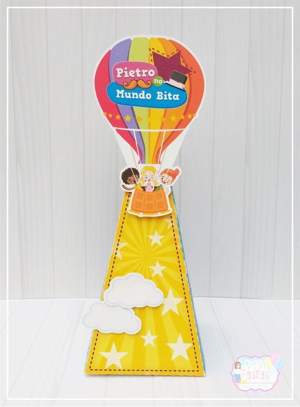 Cone para Guloseimas Mundo Bita!  Fazemos com todos os temas, consulte-nos!!    Temos também kit festa do bita:  http://www.elo7.com.br/kit-festa-bita/dp/77E87F    Altura com aplique de balão 20 cm    Produzido em papel opaline 240g.