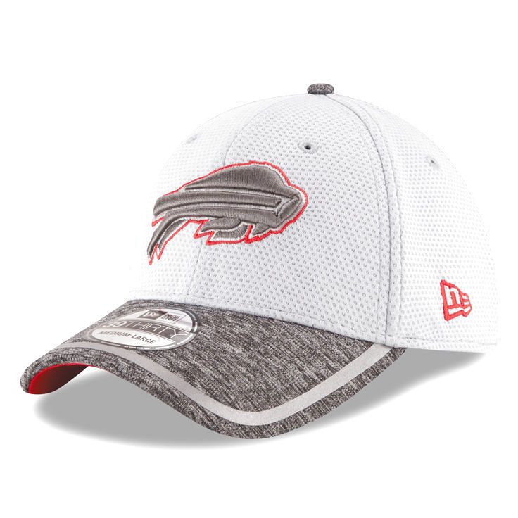 Buffalo Bills New Era Training Camp 39THIRTY Flex Hat - Gray/Heather Gray - $29.99