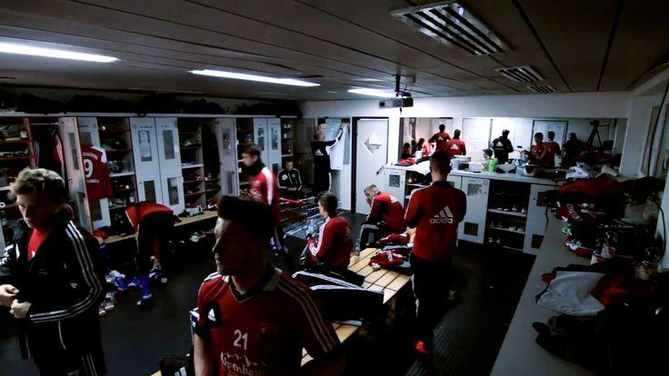 Inside the Locker Room #Football #Soccer #Fussball #Taktik #Taktikfolie