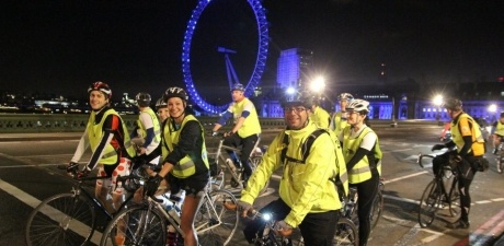 Join Bliss for Nightrider, a unique overnight 100km cycle through central London. You will cycle over Tower Bridge, through a deserted City of London, past Canary Wharf, London Zoo, Piccadilly Circus, the British Museum, London Eye, Houses of Parliament, Trafalgar Square and many more well-known locations.    http://www.bliss.org.uk/events/nightrider-2/