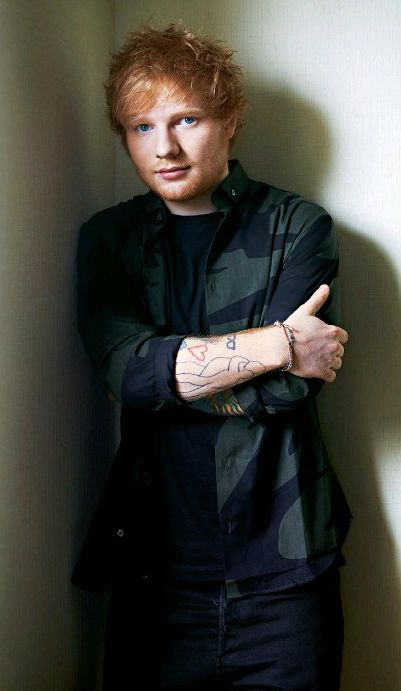 """Ed Sheeran I❤️gingers :) He's such a sweet guy!! Plus his music has so much meaning it makes  u want to cry sometimes :"""")"""