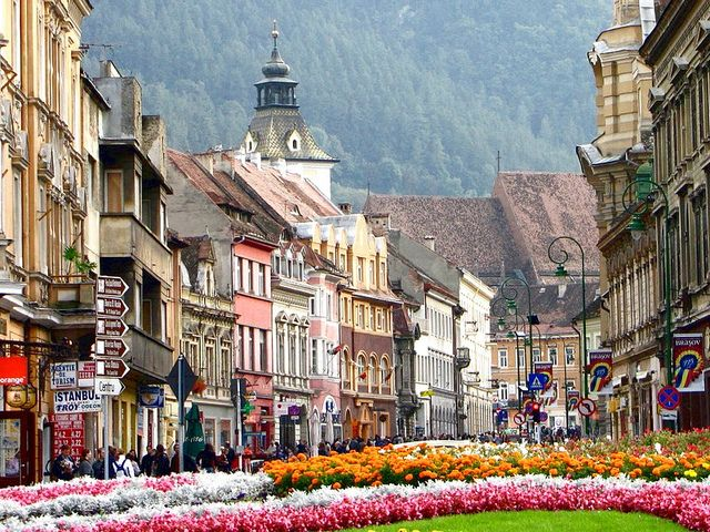 Brasov, Romania  I have awesome memories of driving to this town just so I could…