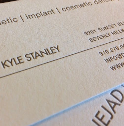Best Letterpress Business Cards Images On   Embossed