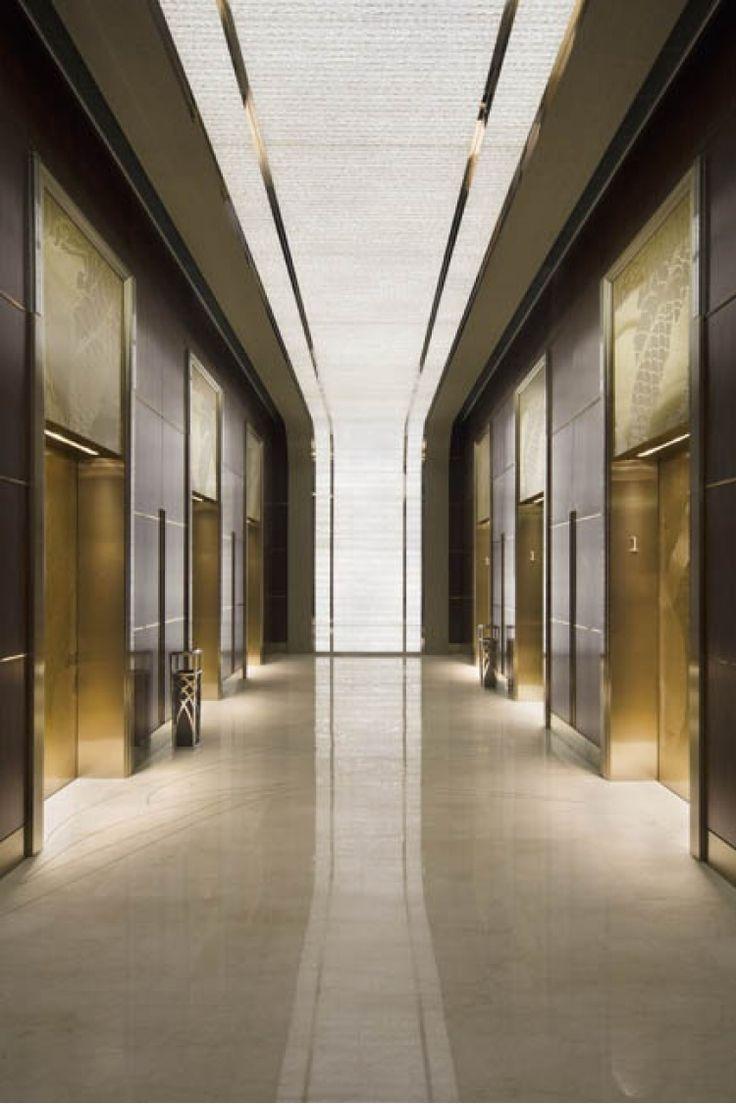 Отель Jing-An Shangri-La, дизайнеры Hirsch Bedner Associates