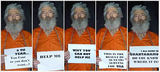 Robert Levinson: Ex-FBI agent captive in Iran working for CIA