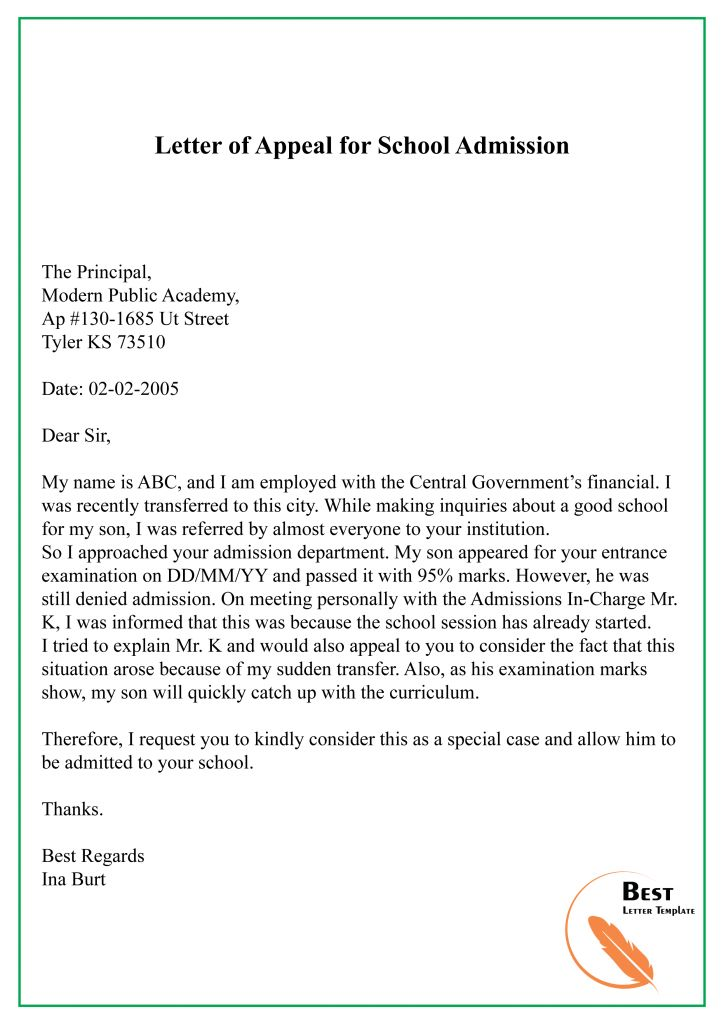 37+ College admission letter sample pdf inspirations