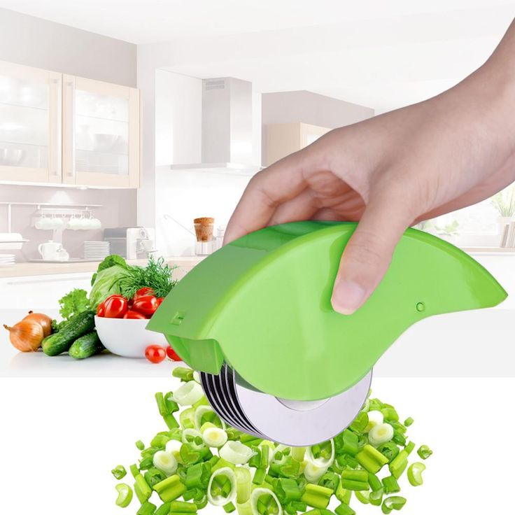Swift-Buy 2017 Herb Roller Mincer Manual Hand Scallion Chive Mint Cutter with 6 Stainless Steel Blade Kitchen vegetable chop   #me #wellbeing #friends #fun #store #tbt #instadaily #summer #art #follow