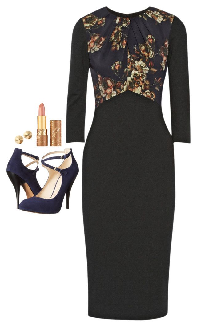 """Donna Paulsen Inspired Outfit"" by daniellakresovic ❤ liked on Polyvore featuring Jason Wu, tarte, Nine West and Eddie Borgo"