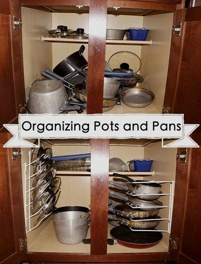 organizing your pots and pans jamonkey atlanta mom blogger rh pinterest com
