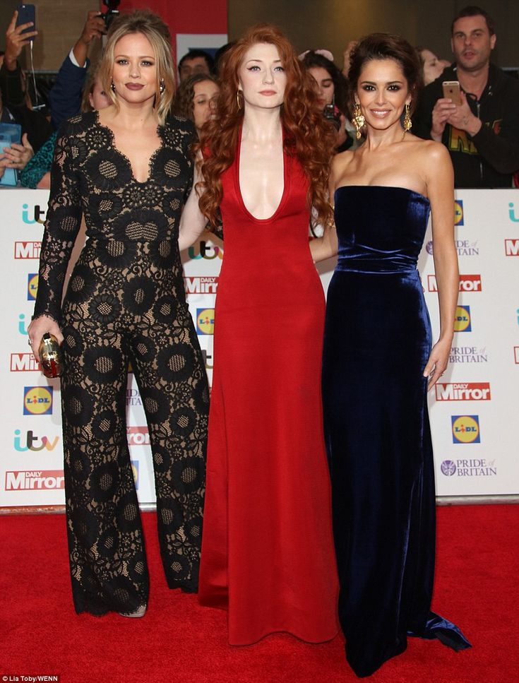A mini Girls Aloud reunion! Cheryl Fernandez-Versini, Kimberley Walsh and Nicola Roberts managed to steal the limelight as they arrived at London's lavish Grosvenor House Hotel for this year's Pride of Britain Awards on Monday evening