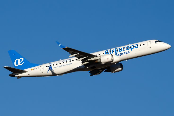 Embraer 195LR (ERJ-190-200LR) - Air Europa Express | Aviation Photo #3865099 | Airliners.net