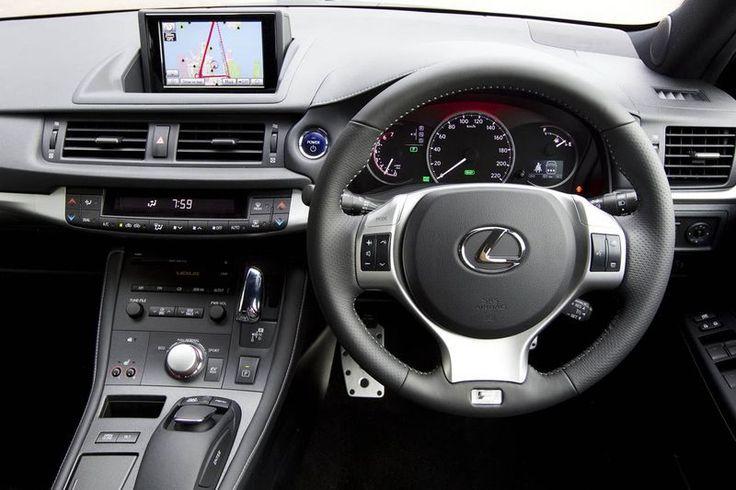 New hybrid Lexus CT 200h Interior