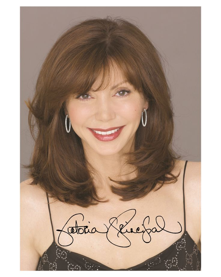 Victoria Principal, she very pretty but she'd be prettier if she didn't go through plastic surgery!