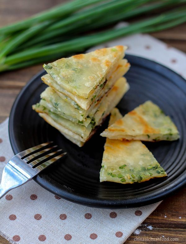 Chinese scallion #pancakes recipe