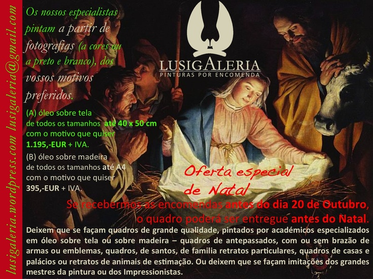 LUSIGALERIA flyer natal