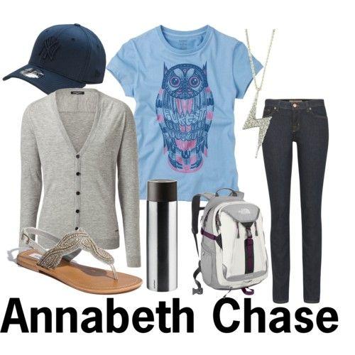 annabeth chase costume | Annabeth Chase - Polyvore