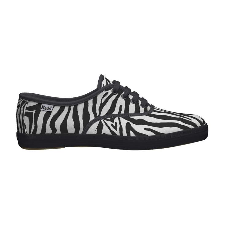 Black and White Zebra Print Shoes