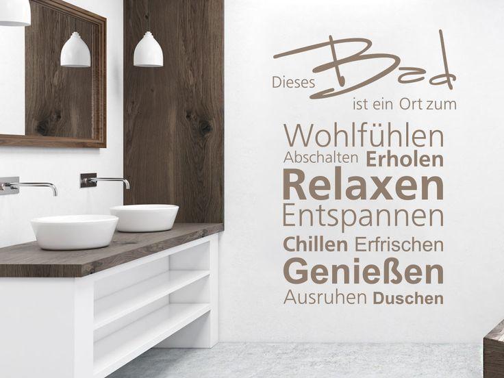 17 besten Wandtattoos für Badezimmer Bilder auf Pinterest ...