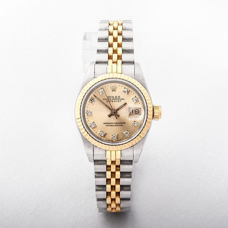 Ladies Rolex on Two Tone Strap