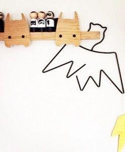 Little Pop Studio - Kids Bat hanger