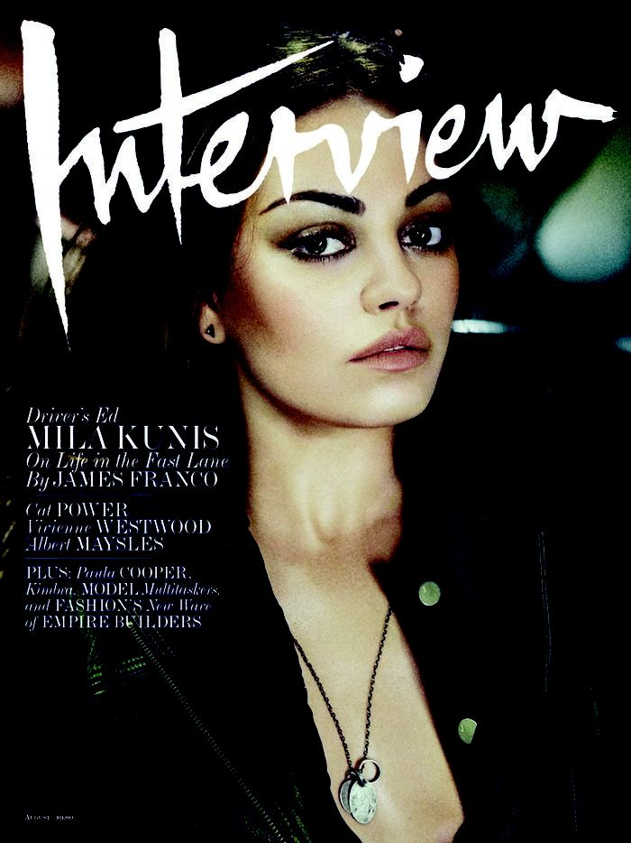 Mila Kunis Interview Magazine
