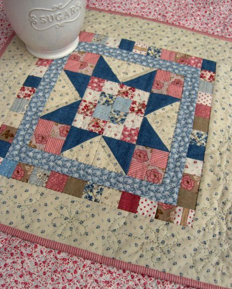 Sweet Pea quilt by Kathleen Tracy. Free pattern - http://www.countrylanequilts.com/id30.html