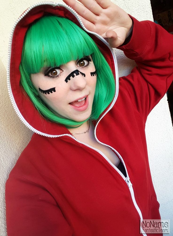 Instant cosplay of Gumi from Vocaloid Matryoshka.  #vocaloid