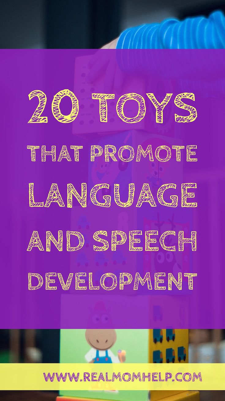 toys for language and speech