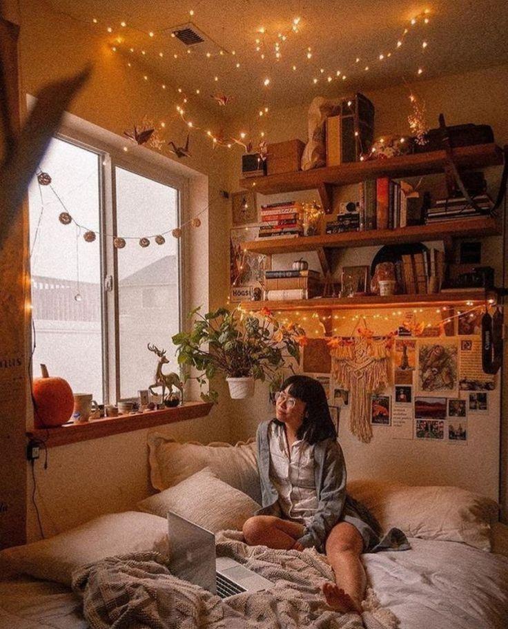 ✔60 inspiring decoration ideas for your dorm room 53